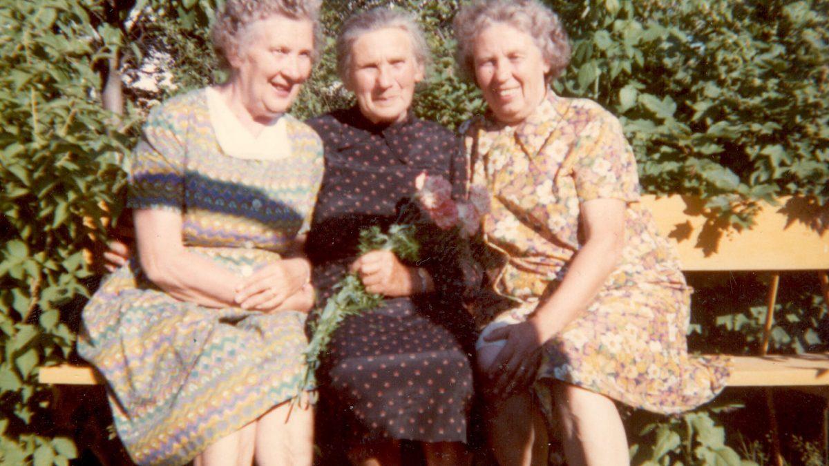 Heidi Pajusoo's mother and two aunts