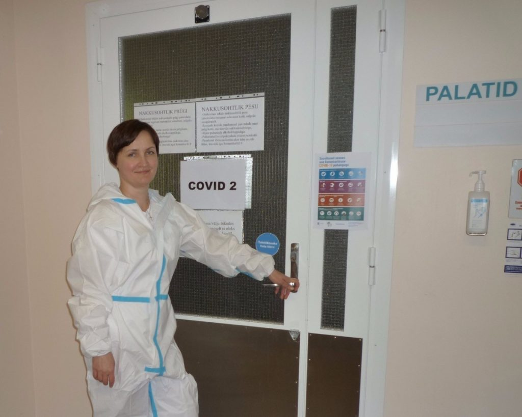 BMTS student serves as a caretaker of COVID patients